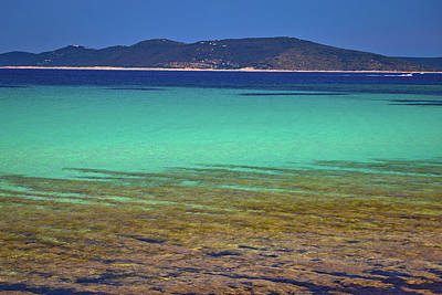 Photograph - Turquoise Beach Of Dugi Otok Island by Brch Photography
