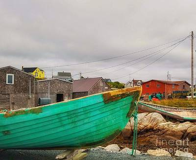 Photograph - Turquoise Boat by Mary Capriole