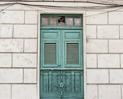 Photograph - Turquoise Door by Kandy Hurley