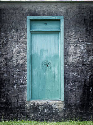 Photograph - Turquoise Door by Van Sutherland