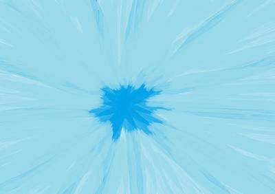 Digital Art - Turquoise Flower Abstract by Linda Velasquez