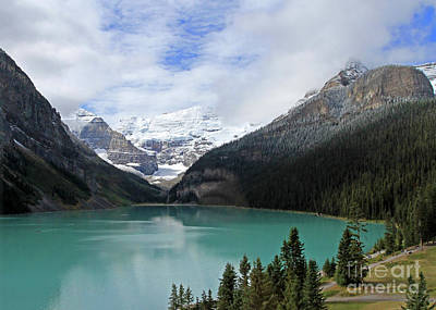 Photograph - Turquoise Lake by Paula Guttilla