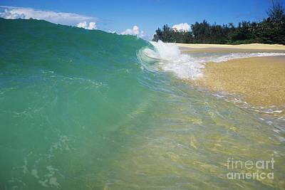 Turquoise North Shore Wave Art Print by Vince Cavataio - Printscapes