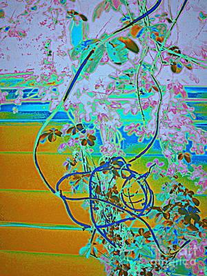 Digital Art - Turquoise Romance by Nancy Kane Chapman
