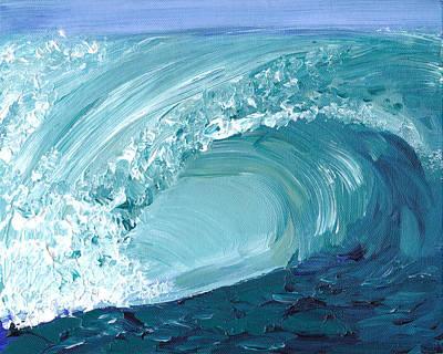 Turquoise Room Art Print