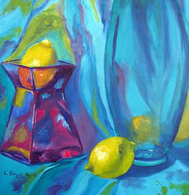 Turquoise Art Print by Lisa Boyd