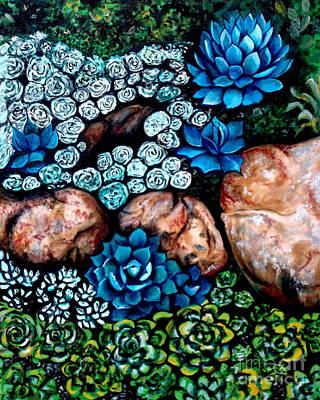Painting - Turquoise Stone by Elizabeth Robinette Tyndall