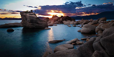 Photograph - Turquoise Tahoe Waters by Renee Sullivan