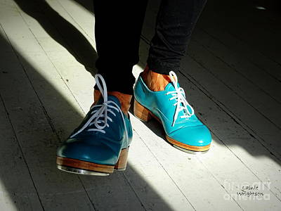 Photograph - Turquoise Tap Shoes by Lainie Wrightson