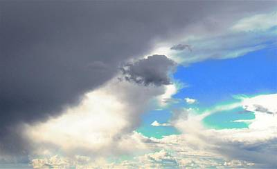 Photograph - Turquoise Thunder by Joshua Bales