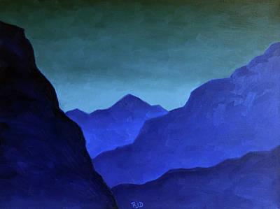 Painting - Turquoise Tranquility by Robert J Diercksmeier