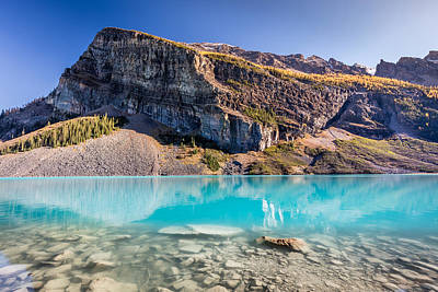 Photograph - Turquoise Water Of The Scenic Lake Louise by Pierre Leclerc Photography