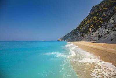 Lefkada Photograph - Turquoise Water Paradise Beach by Sandra Rugina