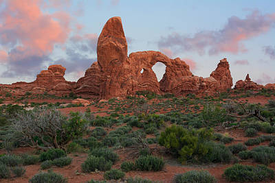 Photograph - Turret Arch by Aaron Spong