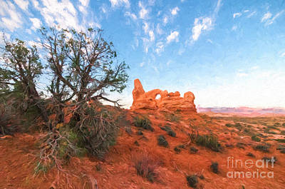 Photograph - Turret Arch II by Sharon Seaward