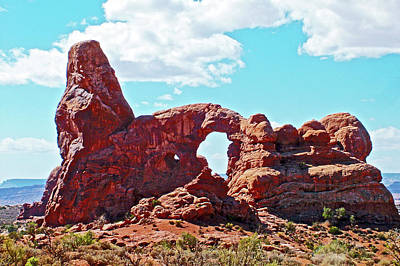 Photograph - Turret Arch In Arches National Park, Utah by Ruth Hager
