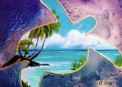Turtle Bay #144 Art Print by Donald k Hall