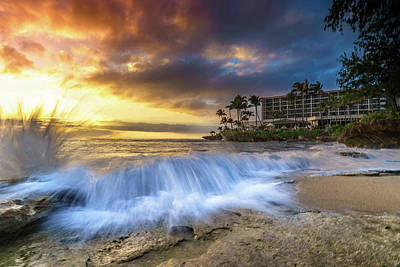 Photograph - Turtle Bay Foam by LiveforBlu Gallery