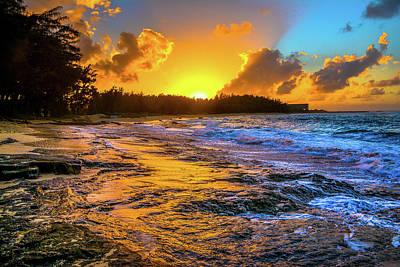 Photograph - Turtle Bay Hawaii High Definition by Jason Brooks