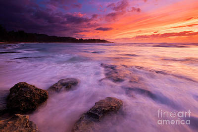Photograph - Turtle Bay Sunset by Mike Dawson