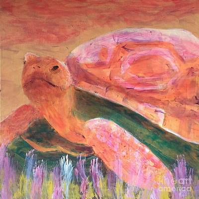 Painting - Tortoise by Donald J Ryker III
