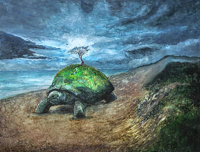 Photograph - Turtle Island by Rick Mosher