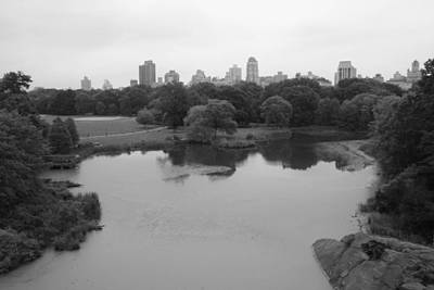 Photograph - Turtle Pond From Belvedere Castle by Christopher Kirby