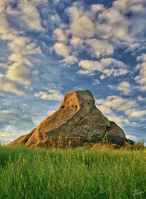 Photograph - Turtle Rock by Endre Balogh