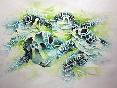 Painting - Turtle Soup by William Love