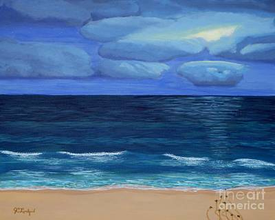 Painting - Turtle Tracks by Jennifer Lindquist
