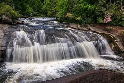Photograph - Turtleback Falls by Chris Berrier