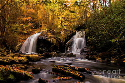 Photograph - Turtletown Creek Falls by Barbara Bowen