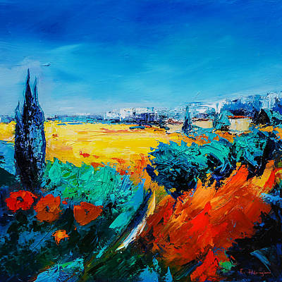 Painting - Tuscan Beauty by Elise Palmigiani