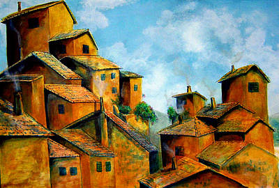 Painting - Tuscan Clay by Thomas Lupari