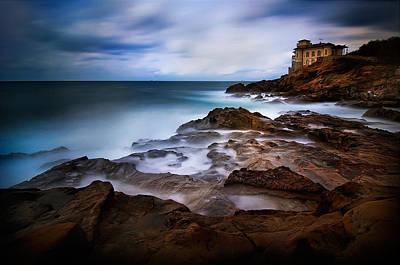 Tuscany Photograph - Tuscan Coast - Calafuria by Antonio Grambone
