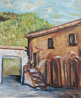 Tuscan Convent Art Print