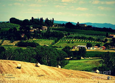 Tuscan Country Art Print