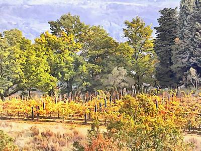 Photograph - Tuscan Countryside In Autumn by Dorothy Berry-Lound