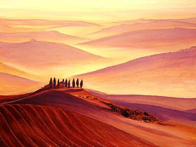 Painting - Tuscan Harmony  by Claire Johnson