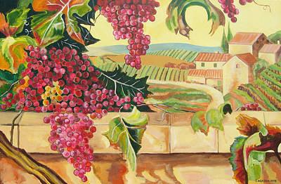 Tuscan Harvest Art Print by John Keaton