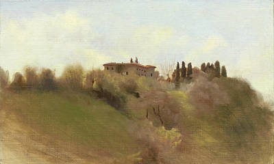 Painting - Tuscan Hill by Thimgan Hayden