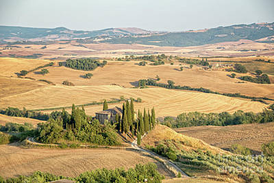 Photograph - Tuscan Hills by Delphimages Photo Creations