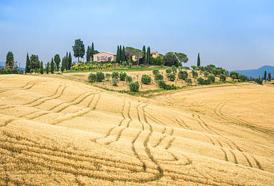 Photograph - Tuscan Hills by Stefano Termanini
