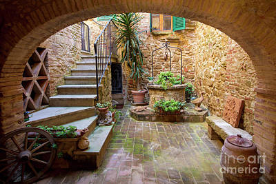 Photograph - Tuscan Home by Brian Jannsen