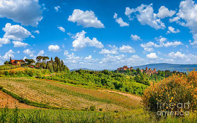 Photograph - Tuscan Idyll  by JR Photography