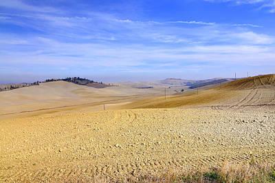 Tuscan Landscape In Siena Art Print by Valter Giumetti