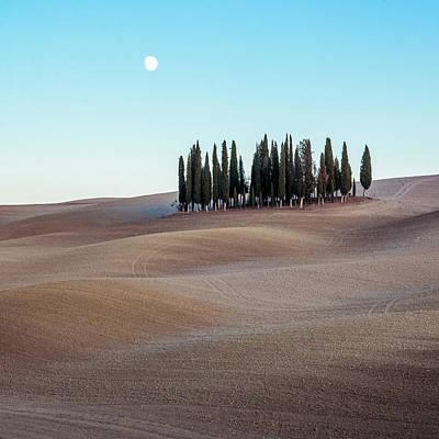 Photograph - Tuscan Landscape by Michael Thomas