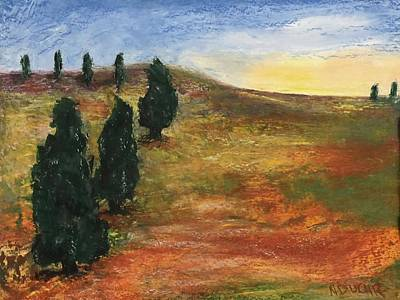 Pastel - Tuscan Lights by Norma Duch