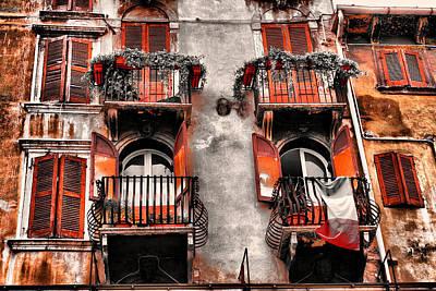 Photograph - Tuscan Living by Greg Sharpe