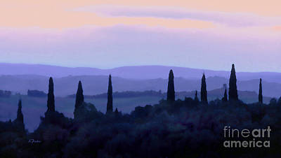 Tuscan Morn Art Print by Linda  Parker